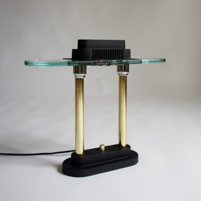 Bankers desk lamp by Robert Sonneman for George Kovacs, 1980s