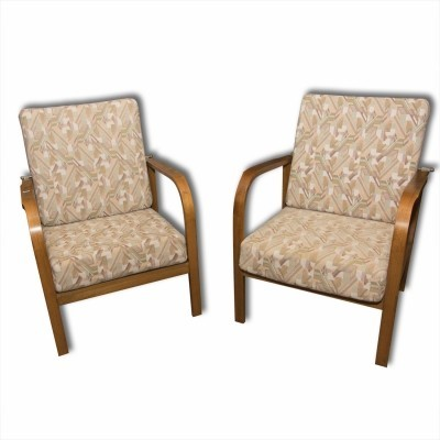 Pair of arm chairs by Jan Vaněk for UP Závody, 1930s