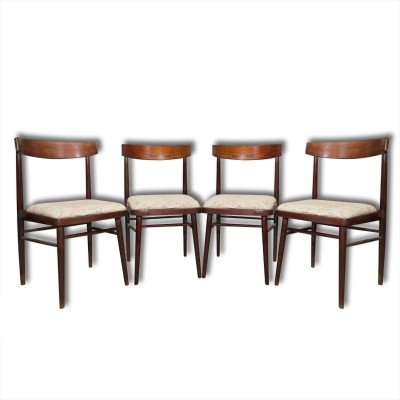 Set of 4 Jitona dining chairs, 1970s