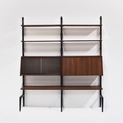 Teak WeBe Wall unit by Louis van Teeffelen, 1960's