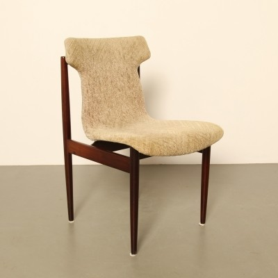4 x IK dining chair by Inger Klingenberg for Fristho, 1960s