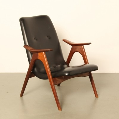 Arm chair by Louis van Teeffelen for Wébé, 1950s