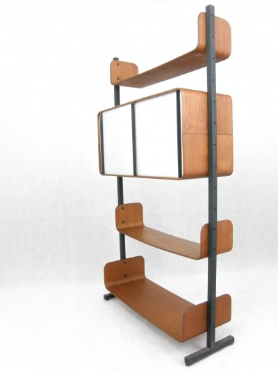 Wall unit by Franco Campo & Carlo Graffi for Home, 1950s