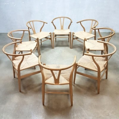 8 x CH24 dinner chair by Hans Wegner for Carl Hansen & Son, 1960s
