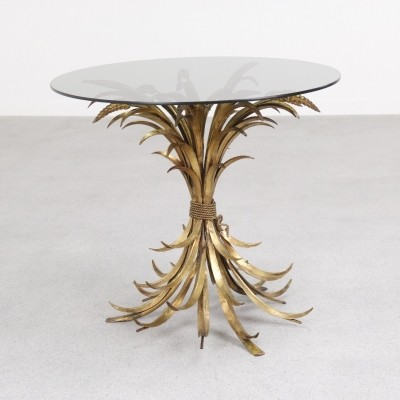 Gold Wheat side table by Hans Kögl, 1960s