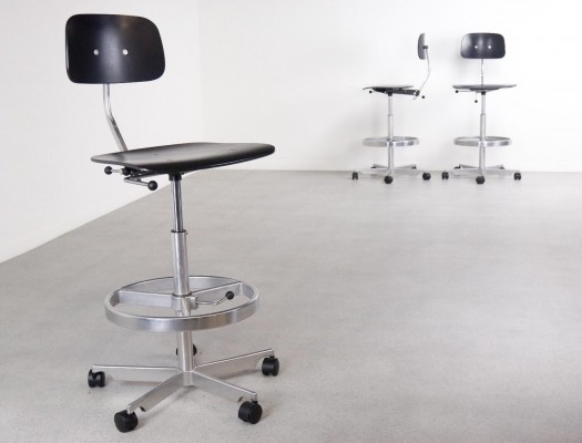 3 x Kevi office chair by Jorgen Rasmussen for Fritz Hansen, 1990s