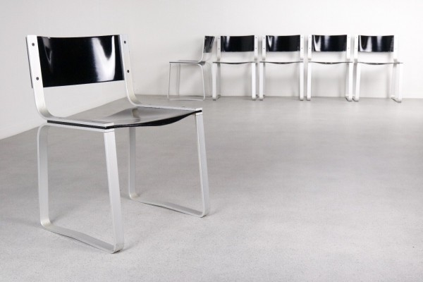 Set of 6 SM 0301 dinner chairs by Pierre Mazairac for Pastoe, 1970s