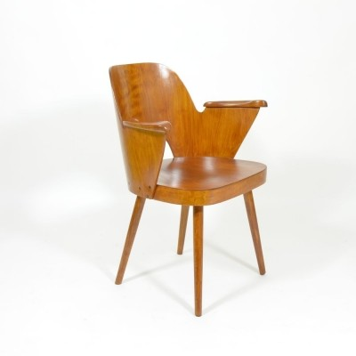 Dinner chair by Oswald Haerdtl for Ton Czechoslovakia, 1960s