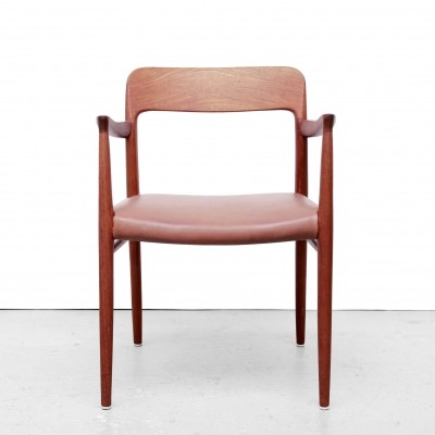 Model 56 arm chair by Niels Otto Møller for JL Møller Møbelfabrik, 1950s