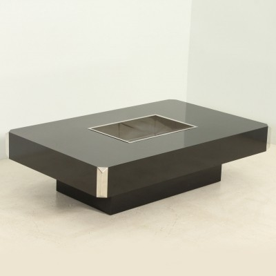 Alveo Coffee Table by Willy Rizzo, 1970s
