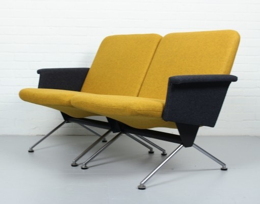 Pair of 1431 - 1432 lounge chairs by André Cordemeyer for Gispen, 1960s
