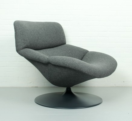 2 x F518 lounge chair by Geoffrey Harcourt for Artifort, 1970s