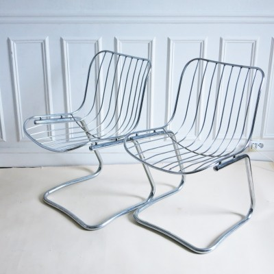 Pair of vintage dinner chairs, 1960s