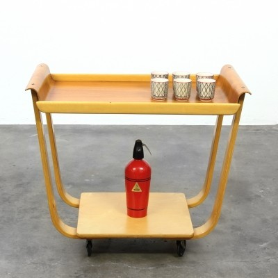 Rolo BP 31 serving trolley by Cees Braakman for Pastoe, 1950s