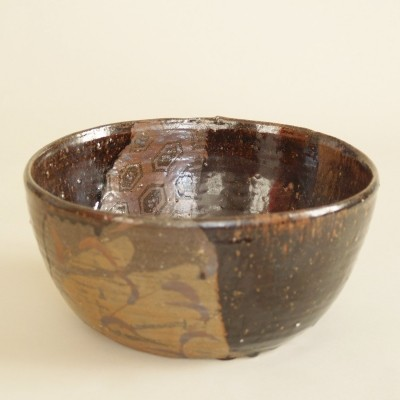 Big chawan Ochamori tea ceremony by Seto Kilns