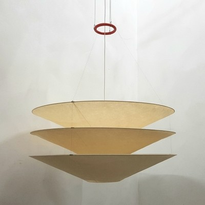 2 x Floatation 2 hanging lamp by Ingo Maurer, 1980s