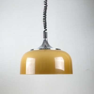 Hanging lamp by Harvey Guzzini for Meblo, 1960s