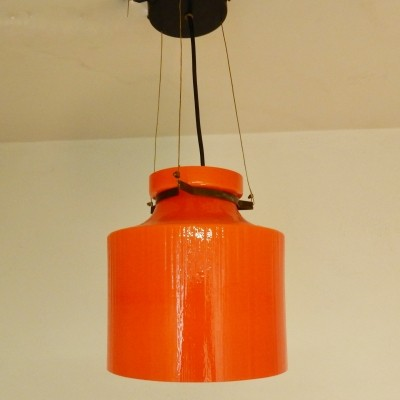 2 x Indoor hanging lamp, 1970s