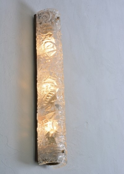 3 x wall lamp by Carl Fagerlund for Orrefors, 1960s