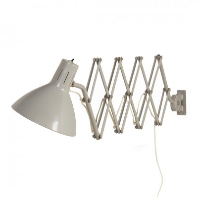 Industrial Scissors Wall Light '110' by Hala, 1960s
