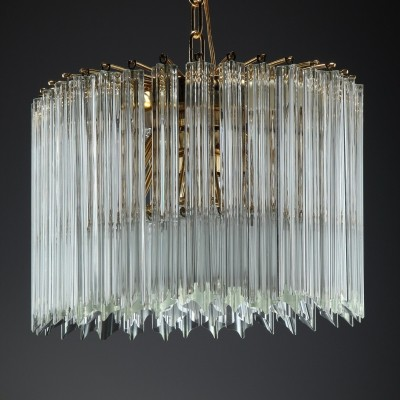 Hanging lamp by Paolo Venini for Murano, 1970s