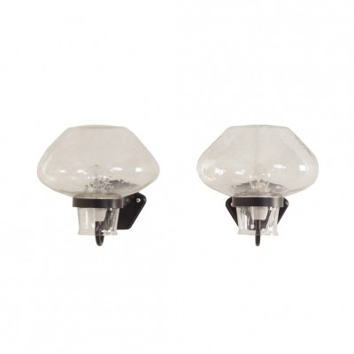 Pair of Wall Lamps by Gunnar Asplund for Asea Sweden, 1960s