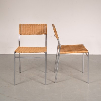 Pair of dining chairs by Martin Visser for Spectrum, 1960s