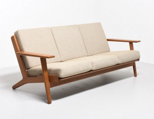 GE-290 sofa by Hans Wegner for Getama, 1950s