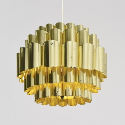 Large pendant in brass by Thorsten Orrling