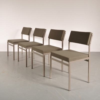 Set of 4 dinner chairs by Cees Braakman for Pastoe, 1960s