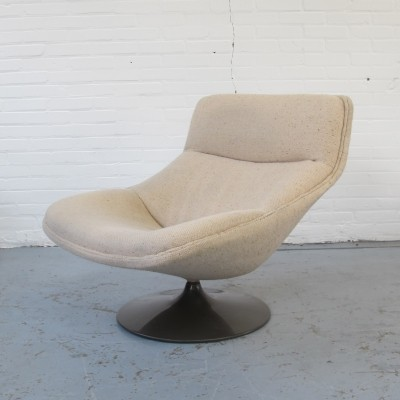 F522 lounge chair by Geoffrey Harcourt for Artifort, 1960s