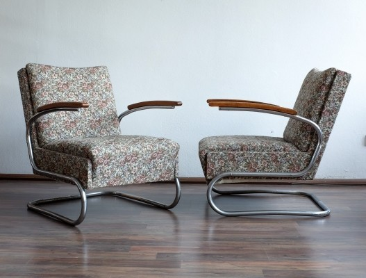 2 x arm chair by Robert Slezák for Slezak, 1930s