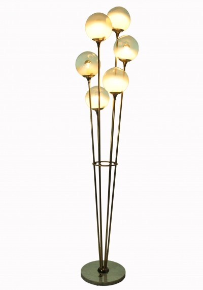 Alberello floor lamp by Stilnovo, 1950s