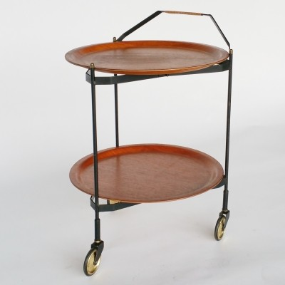 Scandinavian Folding Trolley, 1950s