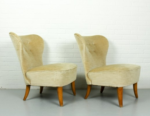 Pair of lounge chairs by Theo Ruth for Artifort, 1950s