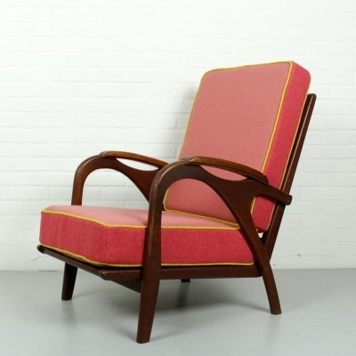 Vintage lounge chair, 1950s