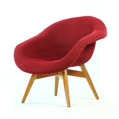 Lounge chair by František Jirák for Ton Czechoslovakia, 1960s