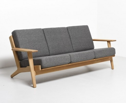 GE-290/3 sofa by Hans Wegner for Getama, 1950s