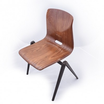 16 x S22 dining chair by Galvanitas, 1960s