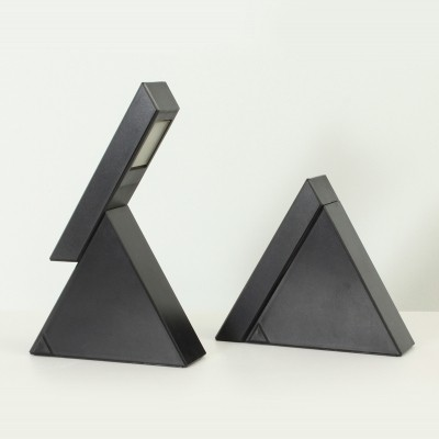 Pair of Delta Table Lamps by Mario Bertorelle