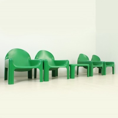 Gae Aulenti Seating Set for Kartell