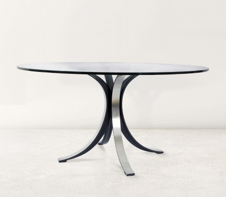 T69 dining table by Osvaldo Borsani & Eugenio Gerli for Tecno, 1960s
