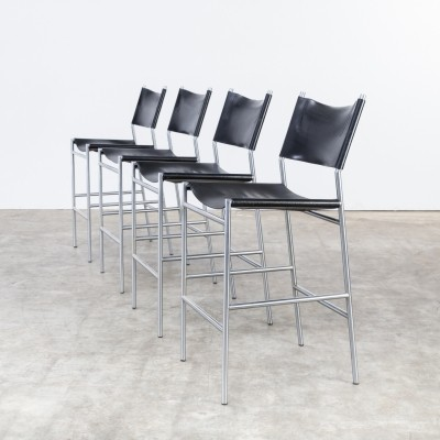 Set of 4 SB06.7 stools by Martin Visser for Spectrum, 1990s