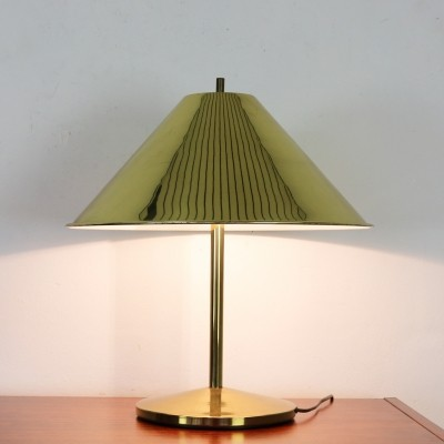 Elegant brass table lamp for PAF Milano Italy