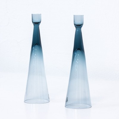 Candlesticks by Bengt Edenfalk for Gulla Skrufs, 1960s