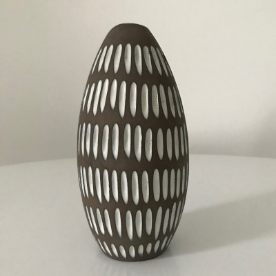 Negro vase by Ingrid Atterberg for Upsala Ekeby, 1950s