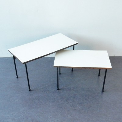 Pair of Twello nesting tables by Martin Visser for Spectrum, 1950s