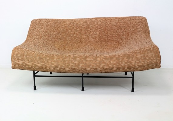 Butterfly Sofa Designed by Gerard Van Den Berg in the 1970s