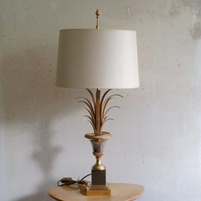 Large Pineapple Leaf Lamp by Boulanger, 1970s