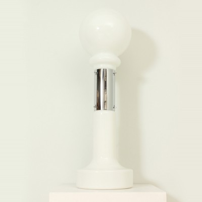 Large Floor or Table Lamp by Mazzega, Italy